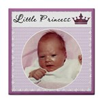 Little Princess  Girl Coaster - Tile Coaster