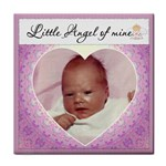 Little Angel  Girl Coaster - Tile Coaster