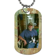 Dadgene By Shelly Guinn   Dog Tag (two Sides)   Bfn0jv7n7u4a   Www Artscow Com Front