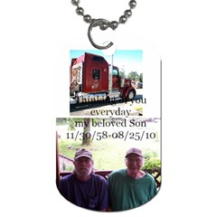 Dadgene By Shelly Guinn   Dog Tag (two Sides)   Bfn0jv7n7u4a   Www Artscow Com Back