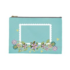 Cosmetic Bag (large)  Template By Jennyl   Cosmetic Bag (large)   Spgsswa7521i   Www Artscow Com Front
