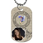 Follow Your Dreams Dog Tag - Dog Tag (One Side)