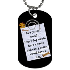 Crazy Dog Tag By Lil    Dog Tag (two Sides)   G9agpfjsfquv   Www Artscow Com Back