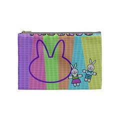 Some Rabbit Love You   Cosmetic Bag (medium)   By Carmensita   Cosmetic Bag (medium)   R2xjl32qrku8   Www Artscow Com Front