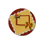 Autumn Coaster2 - Rubber Coaster (Round)