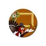 Thanksgiving 10 - Rubber Coaster (Round)