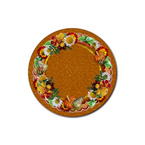 Fall Coaster 3 By Snackpackgu   Rubber Coaster (round)   J5ok2rh3bwab   Www Artscow Com Front