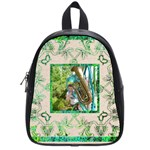 art nouveau eden small backpack schoolbag - School Bag (Small)