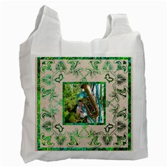 Art Nouveau Eden Recycle Bag By Catvinnat   Recycle Bag (two Side)   Hlf0h0e8u9i7   Www Artscow Com Front