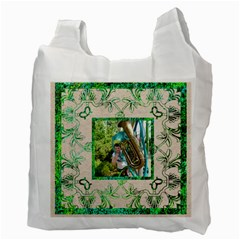 Art Nouveau Eden Recycle Bag By Catvinnat   Recycle Bag (two Side)   Hlf0h0e8u9i7   Www Artscow Com Back