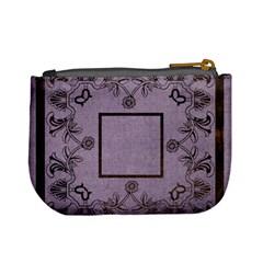 Art Nouveau Purple Mini Coin Purse By Catvinnat   Mini Coin Purse   Sh7simx71btz   Www Artscow Com Back