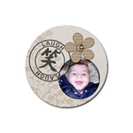 Laugh Coaster - Rubber Coaster (Round)