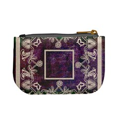 Art Nouveau Purple Lace Mini Coin Purse By Catvinnat   Mini Coin Purse   Xdrv8jtkh7qg   Www Artscow Com Back