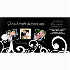 Engagement Announcement Cards By Danielle Christiansen   4  X 8  Photo Cards   7upmytx1gtlc   Www Artscow Com 8 x4 Photo Card - 10