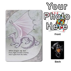 Three Dragon Ante (1 Of 2) By Gaines Kergosien   Playing Cards 54 Designs   Eis98tir5nmf   Www Artscow Com Front - Spade3