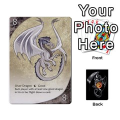 Three Dragon Ante (1 Of 2) By Gaines Kergosien   Playing Cards 54 Designs   Eis98tir5nmf   Www Artscow Com Front - Heart4