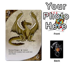 Three Dragon Ante (1 Of 2) By Gaines Kergosien   Playing Cards 54 Designs   Eis98tir5nmf   Www Artscow Com Front - Diamond10