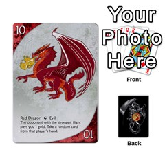 Three Dragon Ante (1 Of 2) By Gaines Kergosien   Playing Cards 54 Designs   Eis98tir5nmf   Www Artscow Com Front - Club9