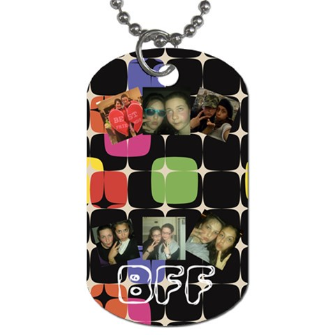 Shira Bday By Batsheva Schecter   Dog Tag (one Side)   F9gacqxf5tha   Www Artscow Com Front