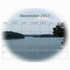 Dream Lake Keowee 2011 By Diane Allen   Wall Calendar 11  X 8 5  (12 Months)   Tntbbctdp0vi   Www Artscow Com Nov 2011