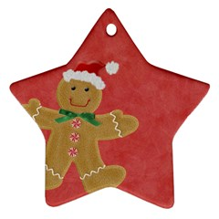 Christams Star By Melinda Bow   Star Ornament (two Sides)   Unzufy29yanh   Www Artscow Com Back
