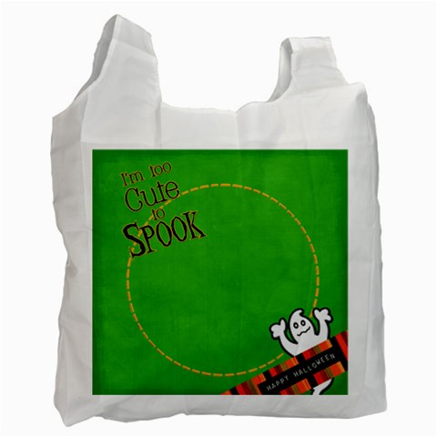Halloweeen Candy Bag By Danielle Christiansen   Recycle Bag (one Side)   L5gpwl6clfx5   Www Artscow Com Front