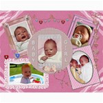 Baby Girl 14x11 Collage Poster - Collage 11  x 14