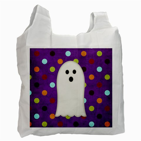 Trick Or Treat Bag 1 By Sheena   Recycle Bag (one Side)   Aiwdh5dmq0ek   Www Artscow Com Front