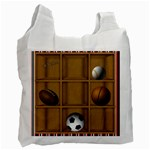 sports bag - Recycle Bag (One Side)