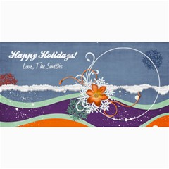4x8 Holiday Card By Mikki   4  X 8  Photo Cards   D2yzb3zlje2i   Www Artscow Com 8 x4 Photo Card - 1