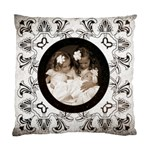 art Nouveau Oreo cookie cushion - Standard Cushion Case (Two Sides)