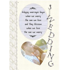 Wedding Card By Lil    Greeting Card 5  X 7    Hztelyox9qi5   Www Artscow Com Front Cover