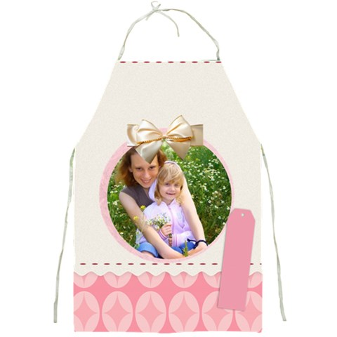 Pink Idea By Joely   Full Print Apron   Ztccz5tqajs9   Www Artscow Com Front