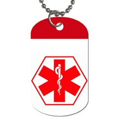Medical Tag For Michelle By Michelle   Dog Tag (two Sides)   Zb7ohgbi5nmv   Www Artscow Com Front