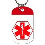 Medical Tag for Michelle - Dog Tag (Two Sides)