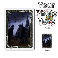 White Bordered Domain Cards (6 Sets   Single Sided) By Colorcrayons   Multi Purpose Cards (rectangle)   7okt6u1mwpek   Www Artscow Com Front 9