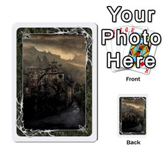 White Bordered Domain Cards (6 Sets   Single Sided) By Colorcrayons   Multi Purpose Cards (rectangle)   7okt6u1mwpek   Www Artscow Com Front 3