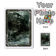 White Bordered Domain Cards (6 Sets   Single Sided) By Colorcrayons   Multi Purpose Cards (rectangle)   7okt6u1mwpek   Www Artscow Com Front 40