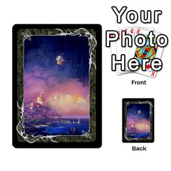 Black Bordered Domain Cards (6 Sets   Single Sided) By Colorcrayons   Multi Purpose Cards (rectangle)   Qvq603vc8tft   Www Artscow Com Front 52
