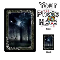 Black Bordered Domain Cards (6 Sets   Single Sided) By Colorcrayons   Multi Purpose Cards (rectangle)   Qvq603vc8tft   Www Artscow Com Back 52