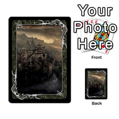 Black Bordered Domain Cards (6 Sets   Single Sided) By Colorcrayons   Multi Purpose Cards (rectangle)   Qvq603vc8tft   Www Artscow Com Front 10