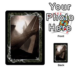 Black Bordered Domain Cards (6 Sets   Single Sided) By Colorcrayons   Multi Purpose Cards (rectangle)   Qvq603vc8tft   Www Artscow Com Back 11
