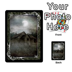 Black Bordered Domain Cards (6 Sets   Single Sided) By Colorcrayons   Multi Purpose Cards (rectangle)   Qvq603vc8tft   Www Artscow Com Front 12
