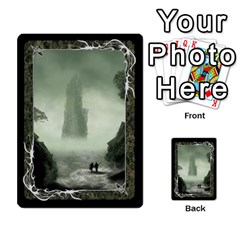 Black Bordered Domain Cards (6 Sets   Single Sided) By Colorcrayons   Multi Purpose Cards (rectangle)   Qvq603vc8tft   Www Artscow Com Front 17