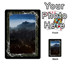 Black Bordered Domain Cards (6 Sets   Single Sided) By Colorcrayons   Multi Purpose Cards (rectangle)   Qvq603vc8tft   Www Artscow Com Front 20