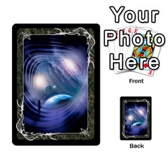 Black Bordered Domain Cards (6 Sets   Single Sided) By Colorcrayons   Multi Purpose Cards (rectangle)   Qvq603vc8tft   Www Artscow Com Front 24