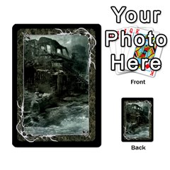 Black Bordered Domain Cards (6 Sets   Single Sided) By Colorcrayons   Multi Purpose Cards (rectangle)   Qvq603vc8tft   Www Artscow Com Back 4