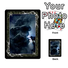 Black Bordered Domain Cards (6 Sets   Single Sided) By Colorcrayons   Multi Purpose Cards (rectangle)   Qvq603vc8tft   Www Artscow Com Front 40