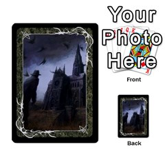 Black Bordered Domain Cards (6 Sets   Single Sided) By Colorcrayons   Multi Purpose Cards (rectangle)   Qvq603vc8tft   Www Artscow Com Front 45