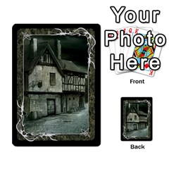 Black Bordered Domain Cards (6 Sets   Single Sided) By Colorcrayons   Multi Purpose Cards (rectangle)   Qvq603vc8tft   Www Artscow Com Back 48